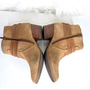 Alex Marie Shoes - ALEX MARIE | Tan suede ankle boots